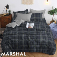 Bedcover Sprei Katun TM MARSHAL Ukuran 140x200-200x200cm
