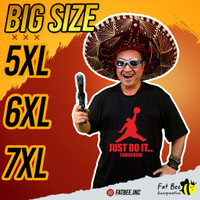 Kaos Pria Big Size Jumbo / 5 XL / 6 XL / 7 XL / Bisa Custom desain