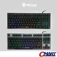 Rexus K9 TKL Fortress Backlit Floating Keys Gaming Keyboard REX-K9TKL