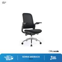 Kursi Kantor, kursi kerja Senna Midback Chair Officescale