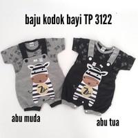 Baju Bayi Laki-Laki Baju Kodok Bayi Zebra TP 3122