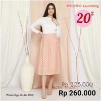 Savy Pleated Skirt - Orange