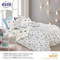 Bedcover&Sprei Katun ESRA NICKY Ukuran 140x200-200x200cm