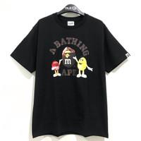BAPE® X M&M'S™ College T-shirt Black 100% Original - M
