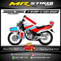 Stiker Decal Motor Yamaha Scorpio Z Fullbody glossy/Doff Keren