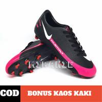 Sepatu bola terbaru Nike Phantom GT Elite White Pink Blast Black impor