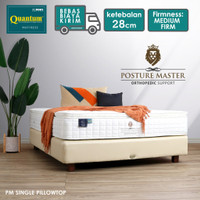 Quantum Kasur Orthopedic Posture Master Single Pillowtop