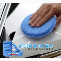Aplicator pad microfiber