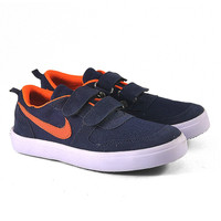 Malka Kids JV-M06 | Sepatu Sneakers Nike Anak Laki-Laki - Biru Dongker