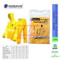 GOSAVE Jas Hujan Samudra / Rain Suit (Baju + Celana)