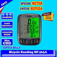 Spedometer Sepeda Accesories Sepeda Spidometer Odometer Sepeda DS034