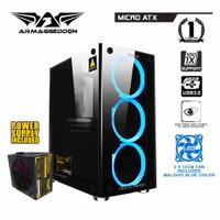 Armageddon Nimitz TR1100 Casing PC Case + Power Supply 300w BANDUNG