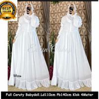 Baju Gamis Wanita Muslim Perempuan Dewasa Terbaru Maxi Dress Ceruti Ba