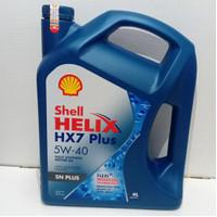 OLI MOBIL SHELL HELIX HX7 SN PLUS 5W-40 FULLY SYNTHETIC 4L 4000ML