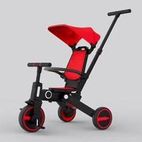 Parklon 7 in 1 Safe Rider Sepeda Multifungsi Stroller mirip bebehoo 2 - Merah