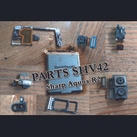 Parts SHV42 Sharp Aquos R2 - battery, camera, konektor cas, jack 3.5