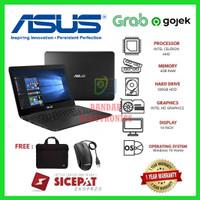 TERMURAH! Laptop Asus 14 win-10 intel dual core/AMD/RAM 4GB/1TB