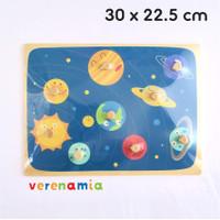 Mainan Edukasi Anak - Puzzle Kayu - Planets
