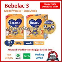 BEBELAC 3 1800gr Madu/Vanila - Original Termurah - Susu Anak