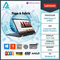 Lenovo Yoga 6 2in1 Touch Fabric Ryzen 7 4700 16GB 512ssd Vega7 W10+OHS