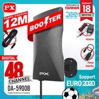 Antena Tv Digital PX DA 5900B Model terbaru dari 5200, 5700 dan 5400b - Hitam