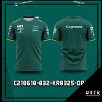 Kaos Baju Jersey F1 Formula One Team Aston Martin Cognizant KR0325