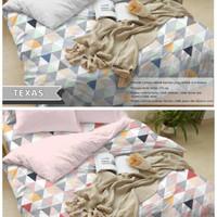 Bedcover Sprei Katun CARLOTTA Ukuran 140x200-200x200cm