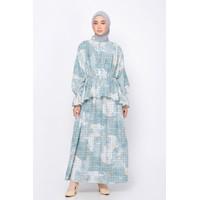 BIA x Isel Fricella - Pamia Mint Dress - Edisi Denmark - Sarimbit - S