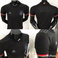 Jersey Baju Bola Timnas Jerman Germany German Away Hitam XXL 2020 2021