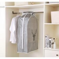 Cover Baju Gantung Anti Debu Pelindung Pakaian Cover Baju Anti Debu - DEER