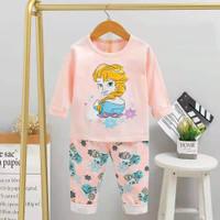 Baju tidur anak / setelan / piyama import anak perempuan. Brand Melody - ZA 1, 55