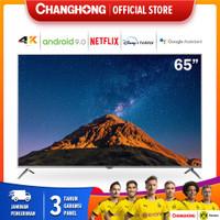 65 Inch Changhong 4K UHD Android 9.0 Smart TV Nexflix LED TV -U65H7A