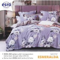 Bedcover&Sprei Katun ESRA ESMERALDA Ukuran 140x200-200x200cm