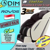Kursi Pijat Refleksi Rovos R662L Listrik Advance Tehcnology Massage -