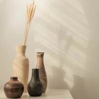 NATTANIBOOMI | 1 SET VAS mix finishing Vas bunga dekorasi meja kantor
