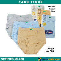 F02 - Men Underwear Celana Dalam Pria CD GT MAN 100% Katun Original
