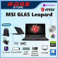 MSI GL65 Leopard i7 10750 16GB 1tbssd RTX2070 8GB 15.6FHD W10