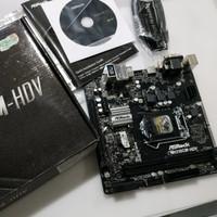 ASRock H310 H310CM-HDV like new garansi
