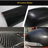 Stiker Motor Karbon 4D
