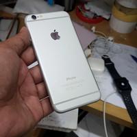 iphone 6/64 silver batangan mulus ex Apple resmi original