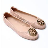 Try Burch Minnie Travel Ballerina Leather - Goan Sand Matte - 36.5 / 23.5cm