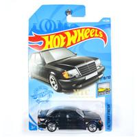 Hot Wheels Mercedes-Benz 500 E Black Lot H 2021