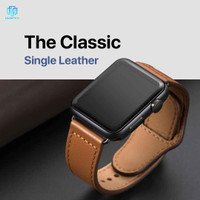 Hermes Leather iWatch Strap Apple Watch 44 42 40 38mm 6 5 4 3 2 1 Tali