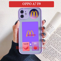 OPPO A7 F9 Soft Case Casing Back Cover Army BTS Meal MCD Lucu Viral