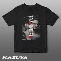KAZUYA TM-0072 Kaos RESIDENT EVIL 3 RE3 - JILL & CARLOS - Game - S