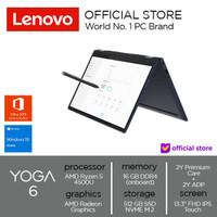 Lenovo YOGA 6 13ARE05 AMD Ryzen 5 45000U RAM 16GB SSD 512GB Win 10+OHS - Abyss_Blue