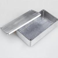NEW XFDZ Kotak Casing Aluminium Metal Stomp untuk Pedal Efek Gitar -