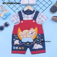 Celana Kodok Kaos uk Bayi 3-18month // Baju Bayi Bahan Kaos Bayi
