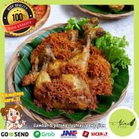 Ayam Goreng Frozen Bumbu Kuning plus Srundeng Nikmat