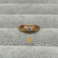 Cincin emas wedding rings mata + variasi 007 cincin couple - 18